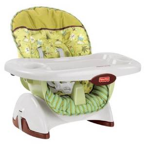 awesome fisher price space saver high chair bugs ebay