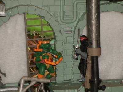 secret sewer lair playset instructions