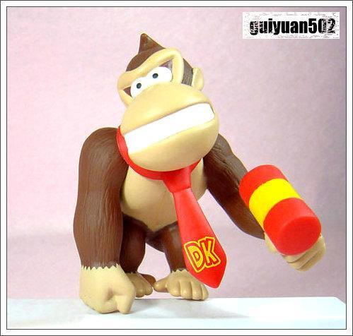 Super Mario Bros King Kong Action Figure Doll New
