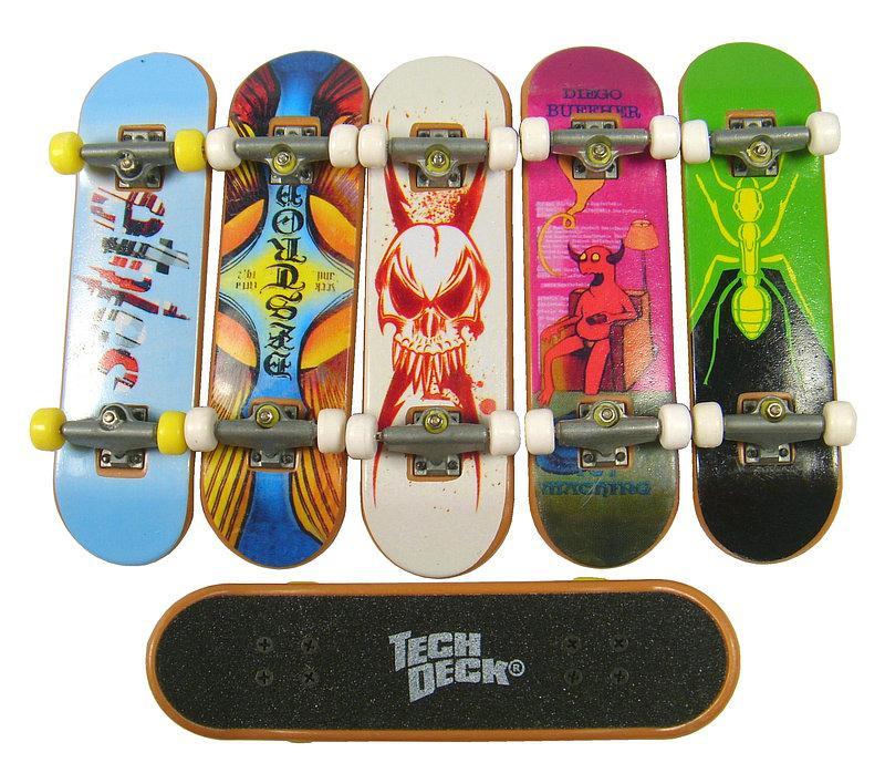 Lot Of 5 Tech Deck Fingerboards Skateboards Finger Cha Ebay
