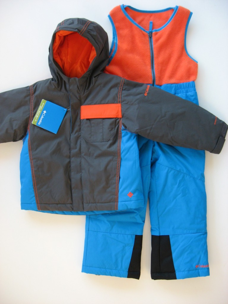 NWT-Columbia-Boys-2T-3T-4T-Snowsuit-2-Piece-ski-outfit-bibs-130-Retail-New