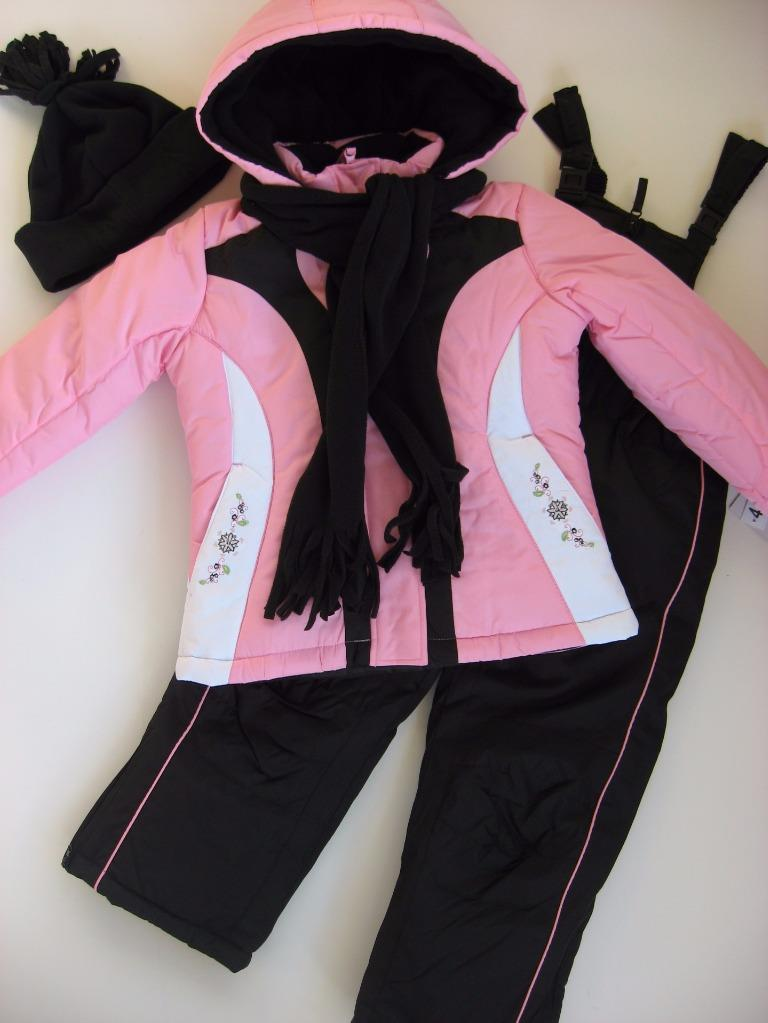 NWT Girls 6X Rothschild 4-Piece Snowsuit ski outfit $120 Retail New