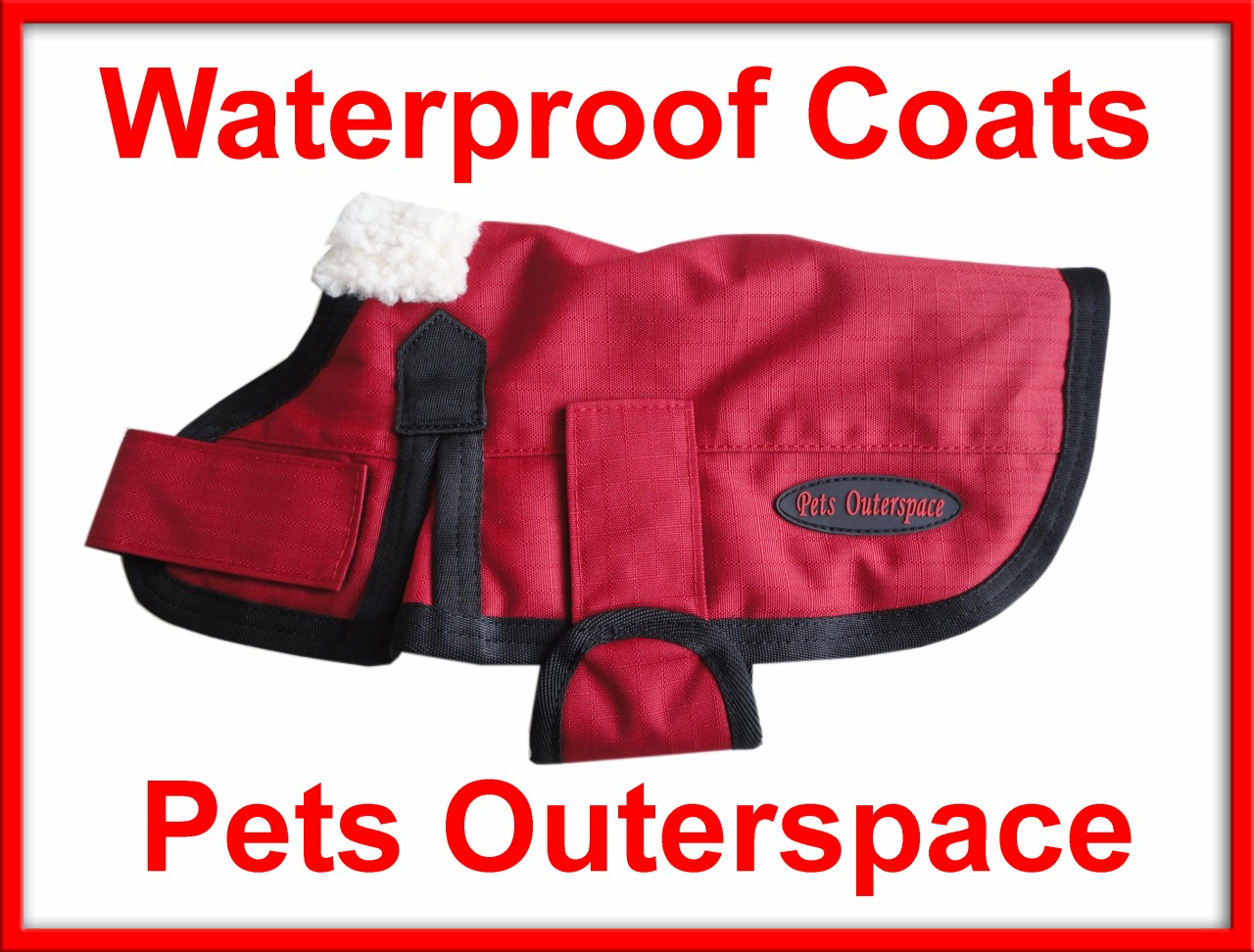 Dog-Rug-Coat-Jacket-Medium-to-Large-40-45-50-55cm-Rain-Waterproof-Ripstop-600