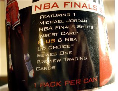 1998 Upper Deck M Jordan NBA Finals Shot Can 3 of 6