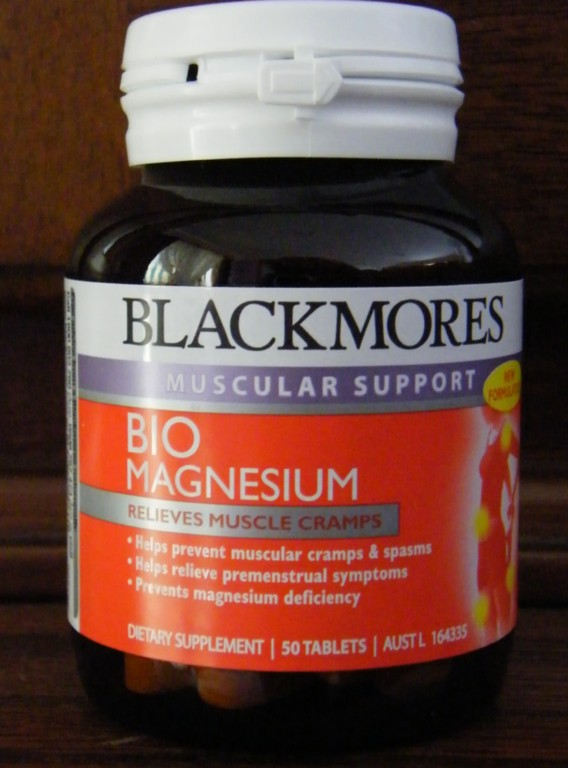 BIO-MAGNESIUM-Muscular-Support-Blackmores-50-tabs-Relaxes-Muscles-Nerves