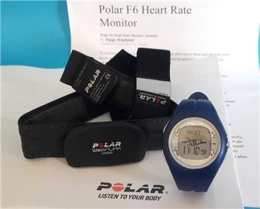 polar f1 heart rate monitor manual