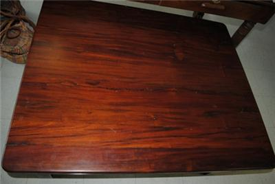 Large unique antique african railroad ties solid teak wood for Cool coffee tables built out of railroad ties