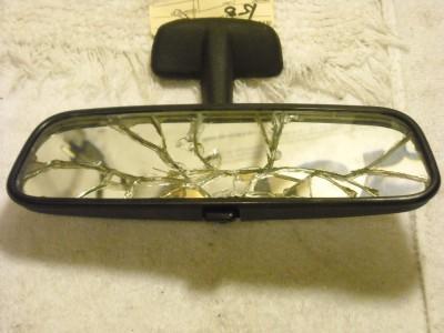 Rear view mirror glass broken mercedes w108 280se 1970 ebay for Interior rear view mirror replacement glass