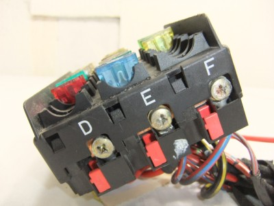 fuse box/panel mercedes benz w202 c-class c180/c200/c220 ... fuse box distribution box diy #11