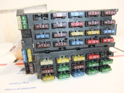 fuse box panel oem mercedes w140 s400 s420 s500 s600 1994 1995 1996 1997 ebay