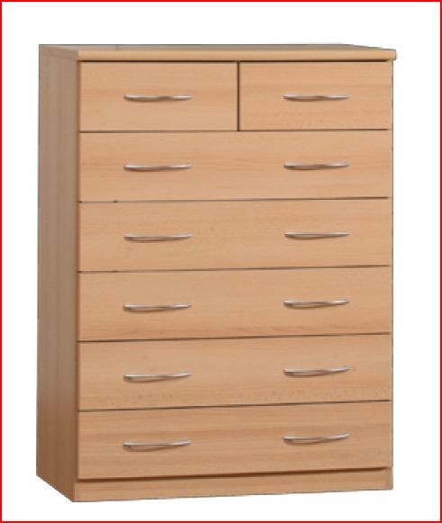 from the oxford onyx range this top quality chest of drawers is
