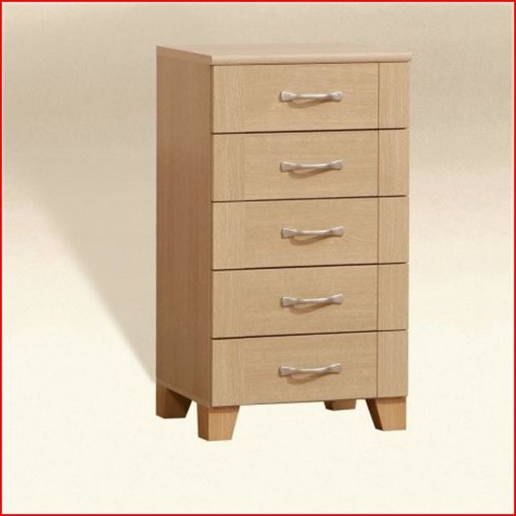 RIO NARROW CHEST OF DRAWER LIGHT OAK BEDROOM FURNITURE EBay