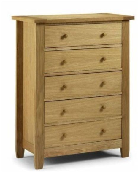 American white oak chest of drawers bedroom furniture ebay for White bedroom chest of drawers