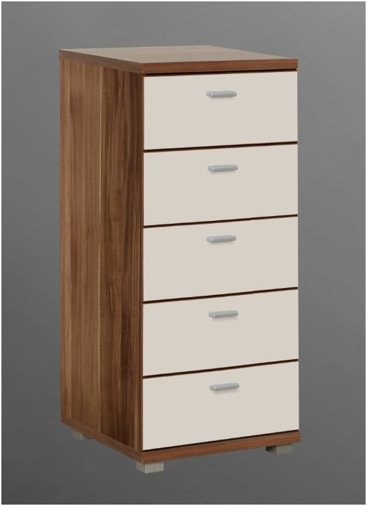 Valencia Narrow Chest Of Drawer Bedroom Furniture High