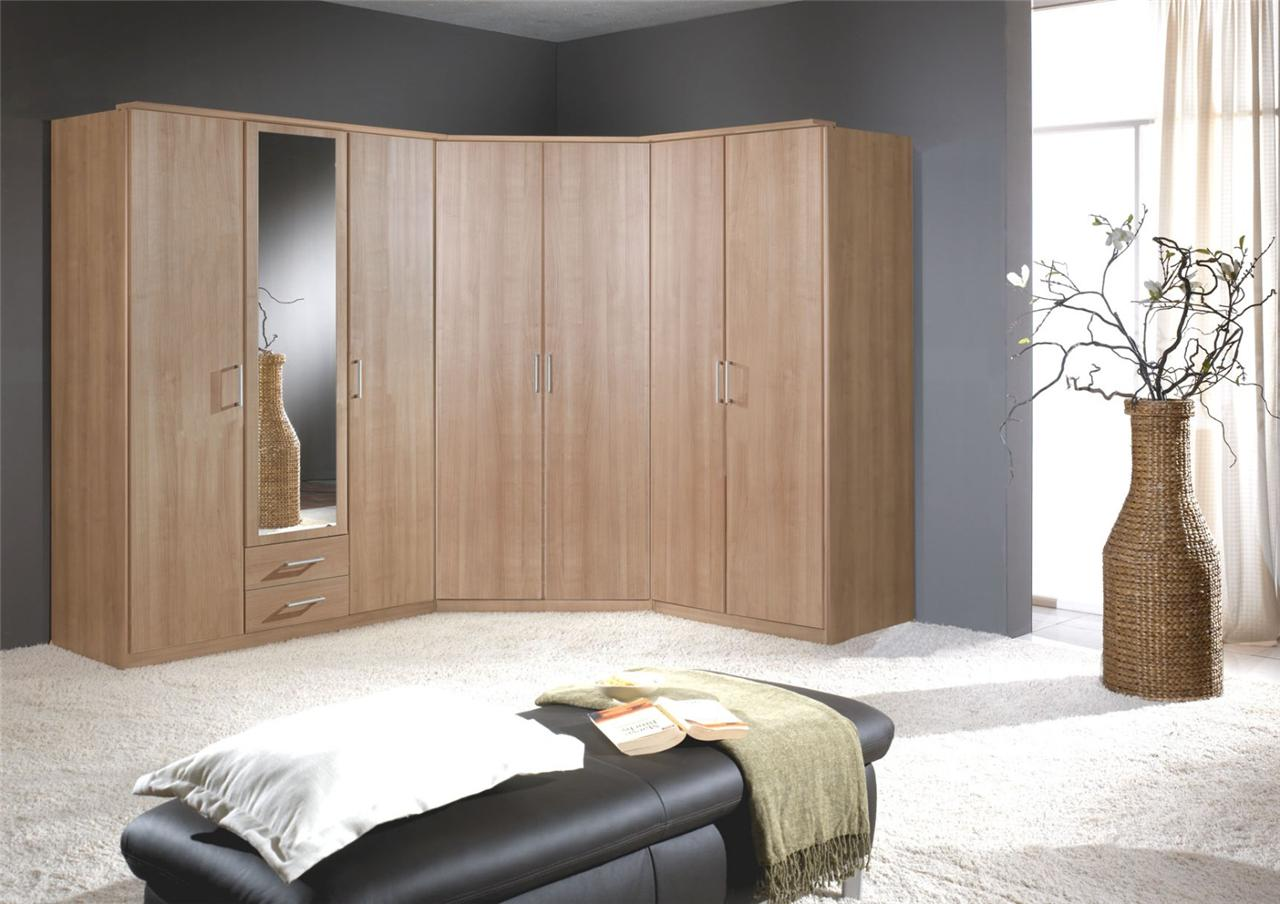 Use A Corner Wardrobe Between Both Creating A Large Corner Combination