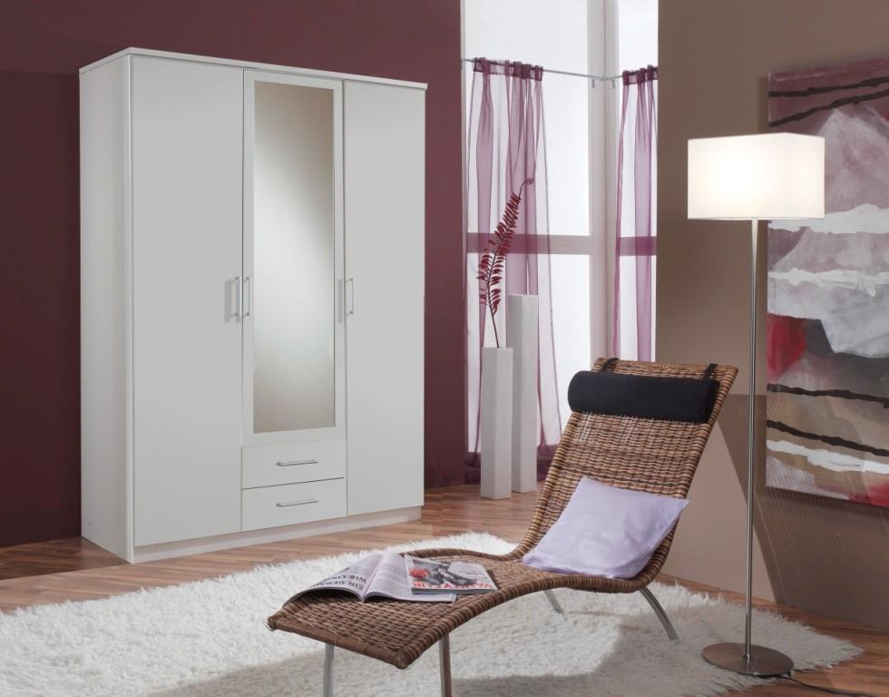 drawer matt white wardrobe cupboard wardrobes bedroom furniture ebay