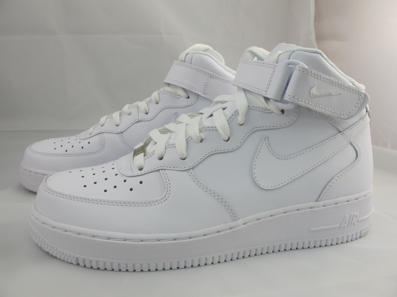 new men 39 s nike air force 1 mid 39 07 315123 111 white ebay. Black Bedroom Furniture Sets. Home Design Ideas