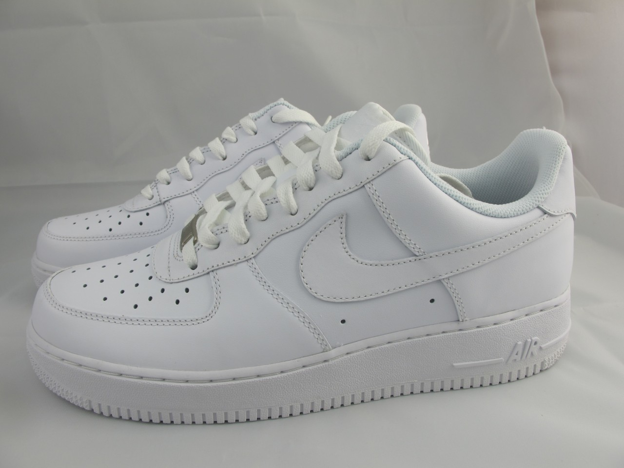Nike Air Force Faible Vente Ebay Blanc