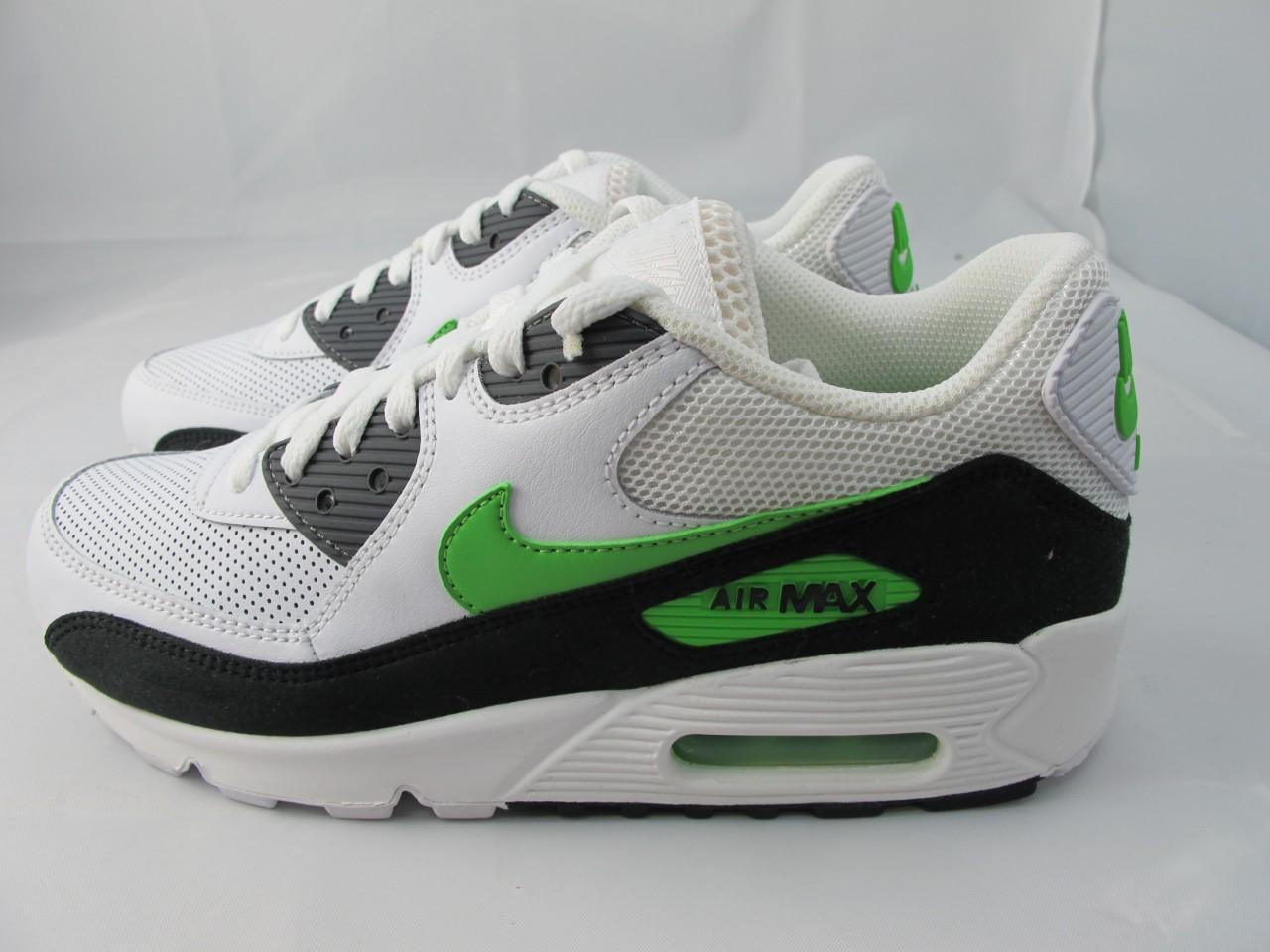 air max 90 green black white