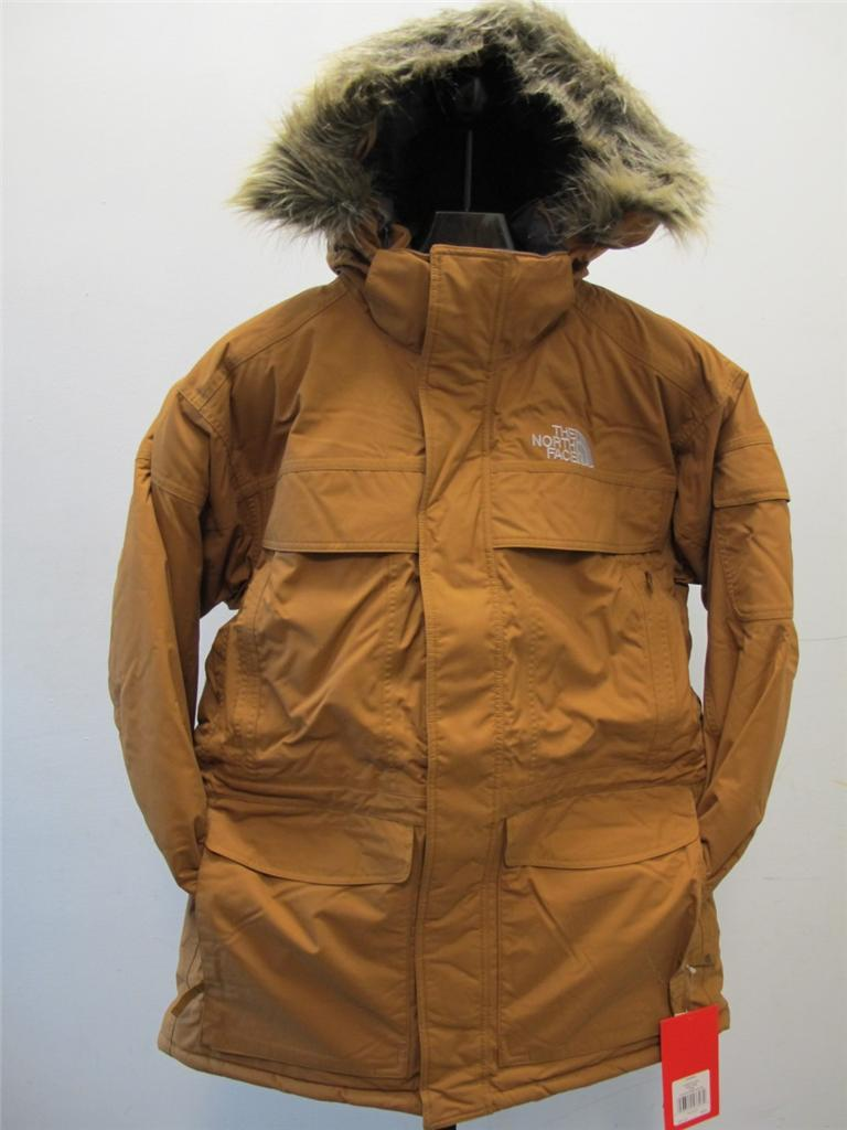 new men 39 s north face mcmurdo parka bronx brown perfect. Black Bedroom Furniture Sets. Home Design Ideas