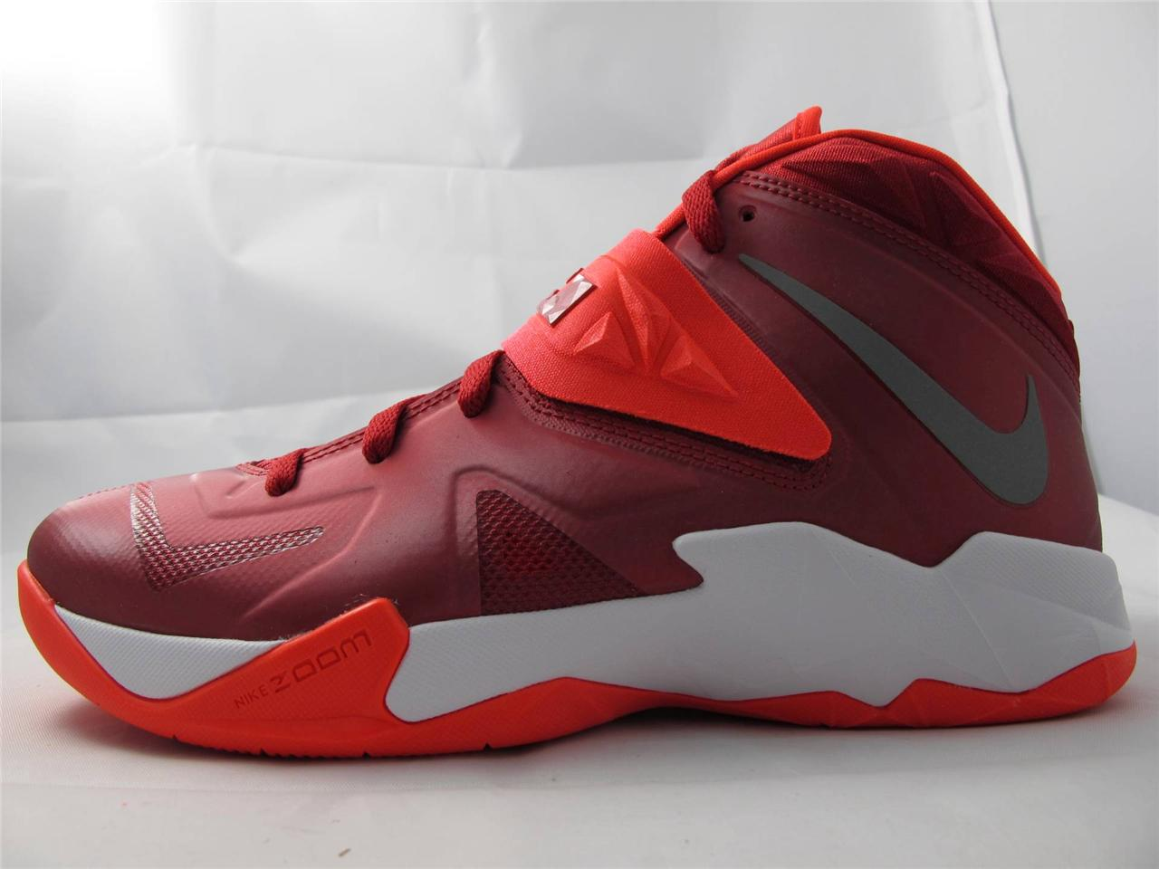 Lebron soldier 7 black and red