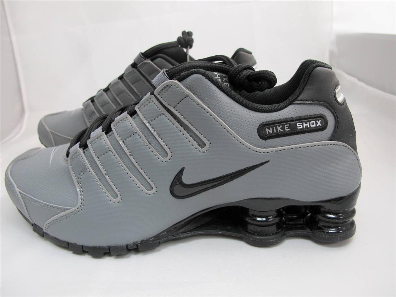 6b0f8921f7594b Grey And Black Nike Shox - Notary Chamber