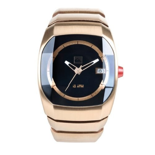 quiksilver mens gold steel watch m110jf acop new features of the analog watch by quiksilver