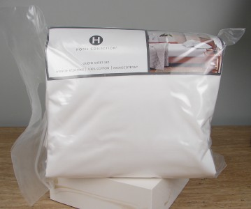 $270 Macys Hotel Collection Modern Queen Sheet Set Ivory 100 ...