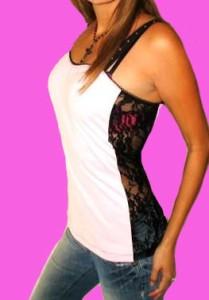 Demi Loon DIY Fallen Angel Wings Tattoo Lace Punk Sexy Corset Top x s