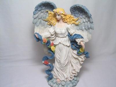 Beautiful Large Resin Angel Figurine