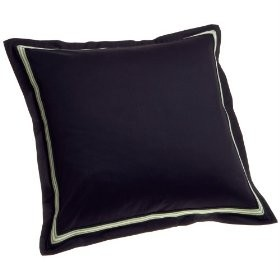 nautica lakeview euro pillow shams navy blue green s 2 ebay. Black Bedroom Furniture Sets. Home Design Ideas