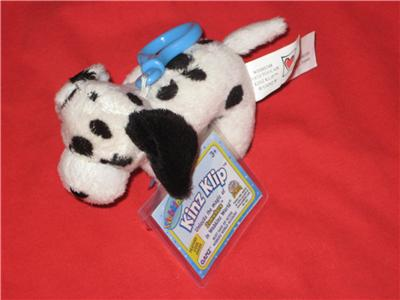 Dalmation Beanie Baby on Webkinz Kinz Klip Collectible Dalmatian Brand New   Ebay