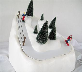 Department 56 ski slope village animated christmas for Decoration 56
