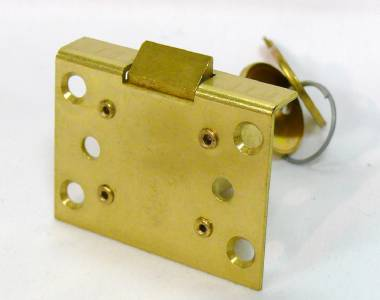 how to open a broken mortise lock