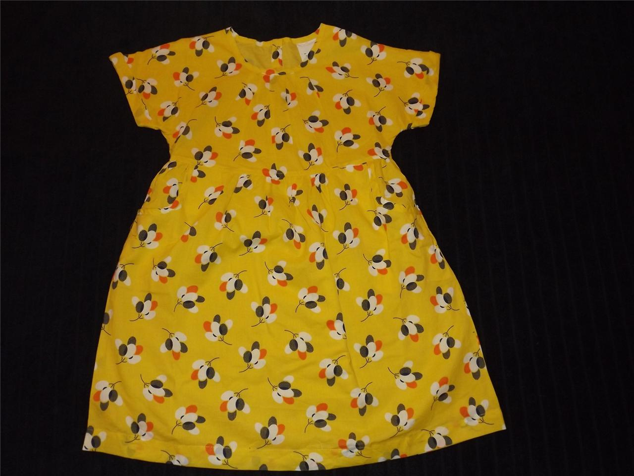 Brand new mini boden 2013 easy printed dress in daffodil for Mini boden england