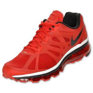 NIB Mens Nike air+ 2012 red/black tennis shoes 487982-601 sizes 9 & 10