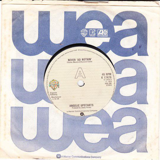 ANGELIC-UPSTARTS-UK-45-79-NEVER-AD-NOTHING-PUNK-KBD