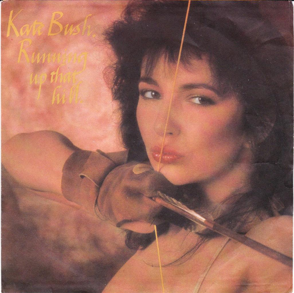 KATE-BUSH-OZ-P-S-45-85-RUNNING-UP-THAT-HILL-HTF