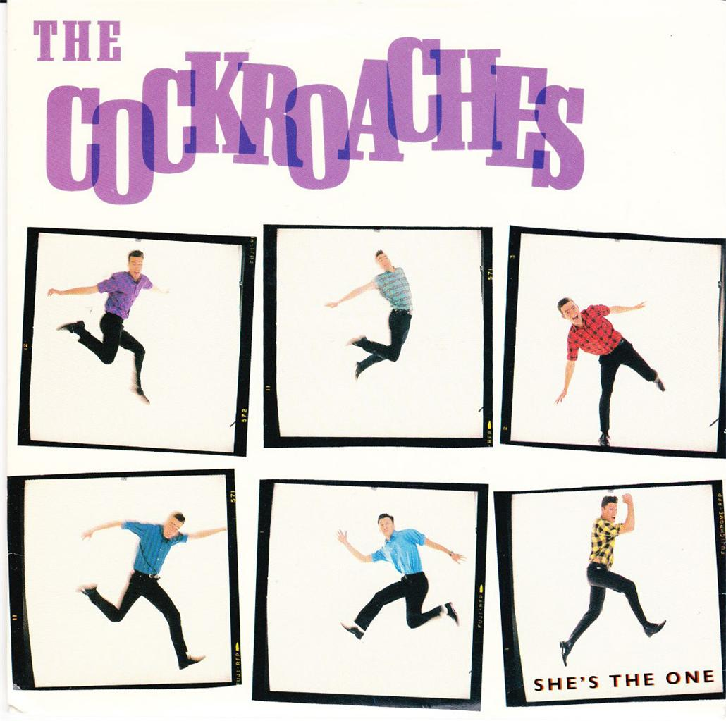 THE-COCKROACHES-OZ-PROMO-45-86-SHES-THE-ONE-THE-WIGGLES