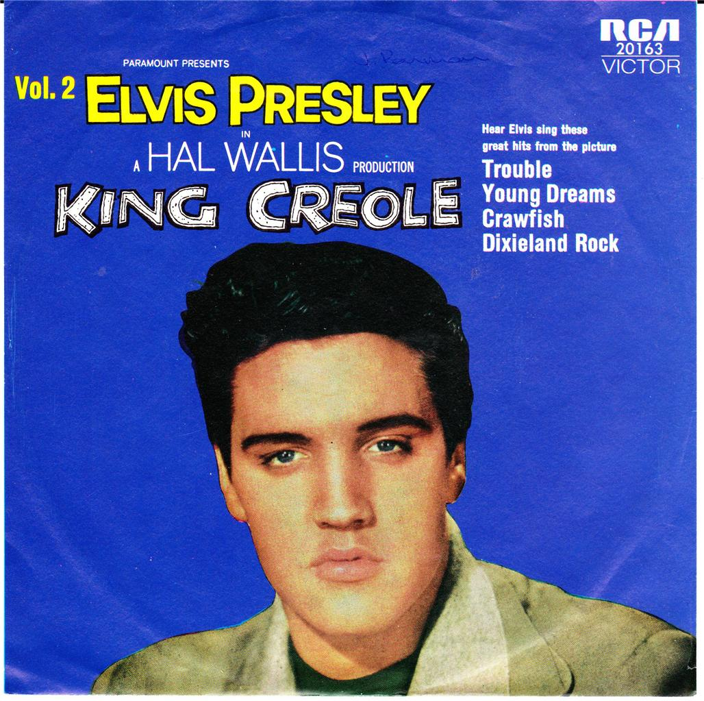 ELVIS-PRESLEY-OZ-REISSUE-EP-KING-CREOLE-VOL-2-P-S