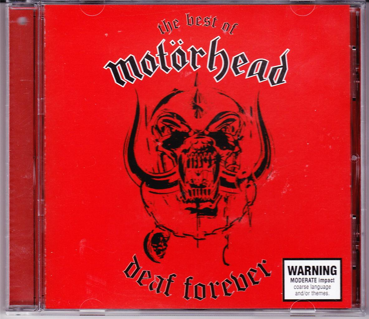 MOTORHEAD-ORIG-OZ-99-CD-DEAF-FOREVER-THE-BEST-OF