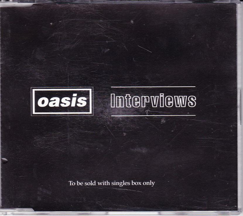 OASIS-UK-4-TRACK-CD-1996-INTERVIEWS
