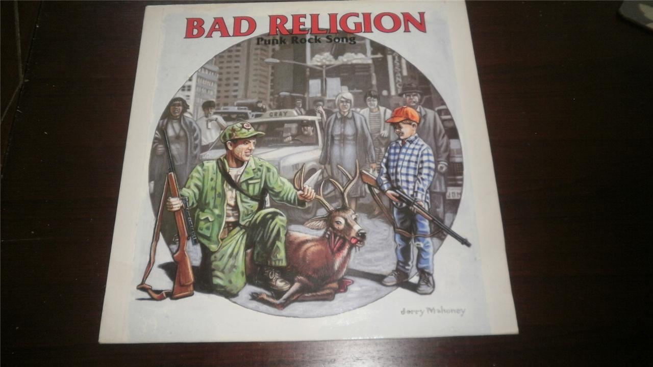 BAD-RELIGON-4-TRACK-MINI-LP-96-PUNK-ROCK-SONG-DRAGNET-HTF