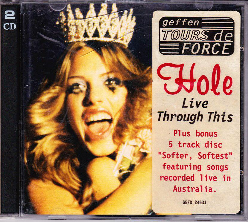 HOLE-AUSTRALIAN-ONLY-TOUR-2-CD-LIVE-THROUGH-THIS-BONUS-DISC-LOOP