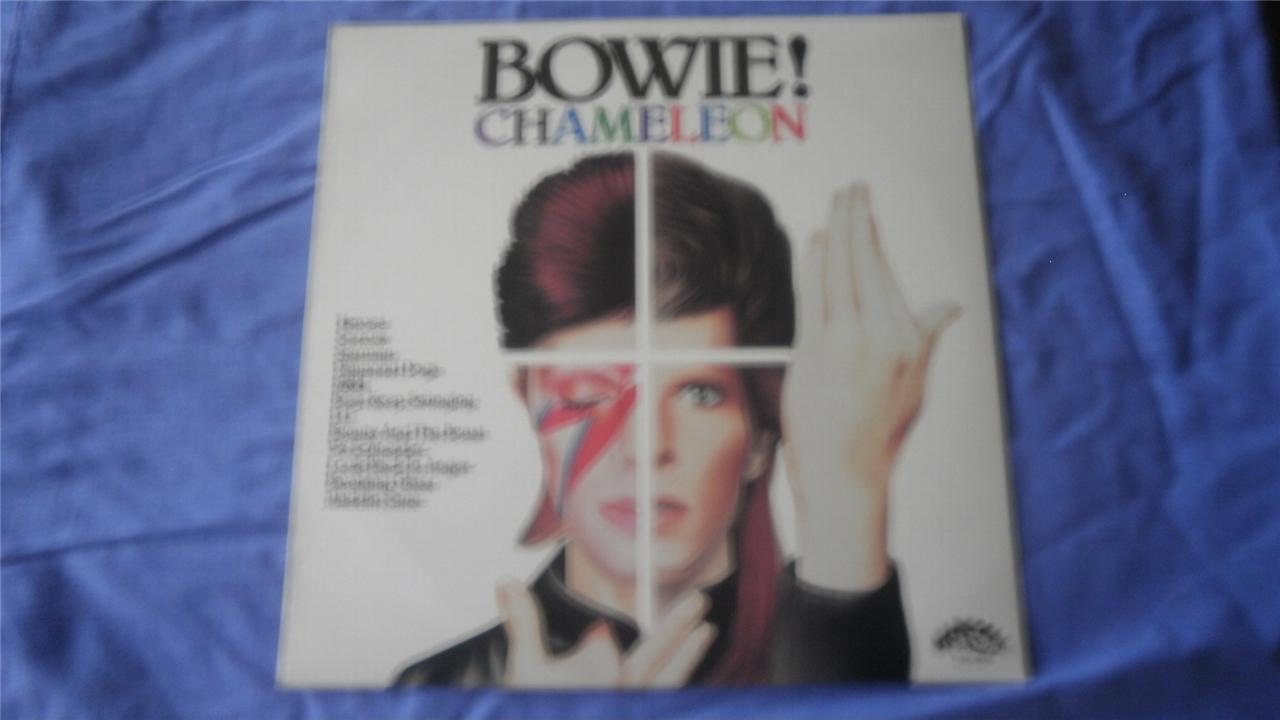 DAVID-BOWIE-OZ-ONLY-LP-79-CHAMELEON-RARE-GREEN-RCA-LABEL-STARCALL