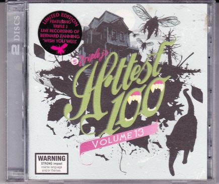TRIPLE-J-OZ-DBL-CD-06-HOTTEST-100-VOL-13-LOOP-WOLF-MOTHER-LTD-EDITION