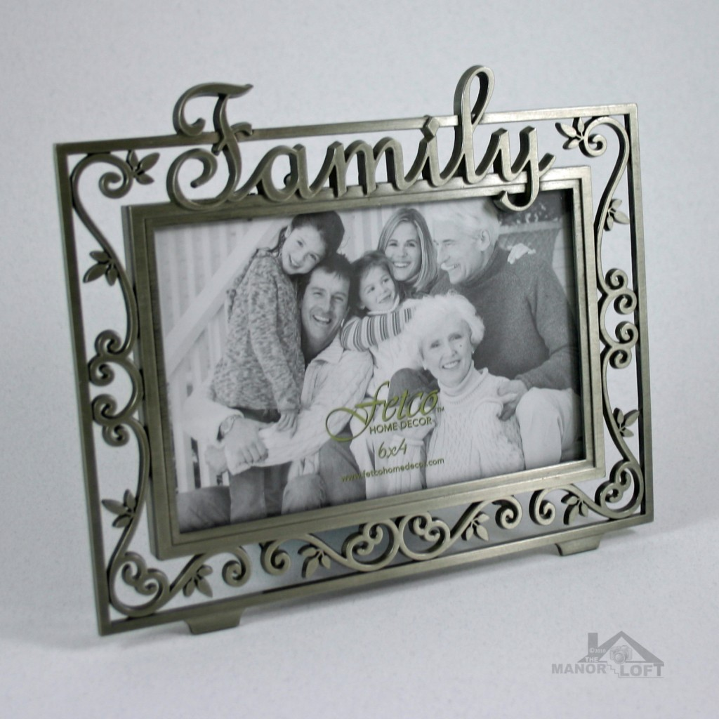 fetco expressions collection family photo frame 6x4 ebay. Black Bedroom Furniture Sets. Home Design Ideas