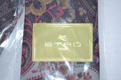 新etro米兰人的100%丝绸佩斯利花纹领带~漂亮!