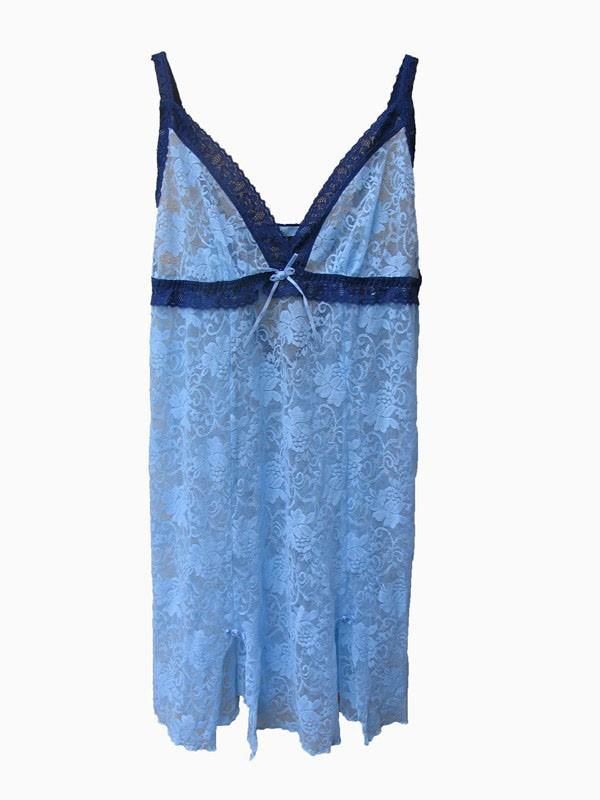 S20-NEW-La-Vie-En-Rose-Sexy-Lace-Nightie-Lingerie-Sleepwear-Size-M-L-XL