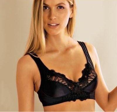 B111 Ladies Wire Free Lace Bra Size 14 16 18 20 24 26 C D DD E F ...